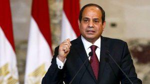 الرئيس المصري يصل الخرطوم