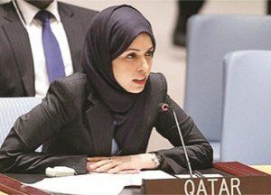 مندوبة قطر لدى الأمم المتحدة: نتعاون لحرمان الجماعات الإرهابية من مصادر التمويل