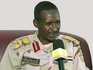 لوموند الفرنسية: حميدتي يريد أن يكون قائد السودان