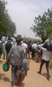 الجبهة الوطنية: (العسكري) يمارس ممارسات الإنقاذ العنصرية  باتهامه بعض أبناء دارفور  بقتل المعتصمين