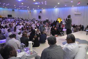 السودانيون في الرياض يكرمون الشاعر أزهري محمد علي في ليلة 21 أكتوبر