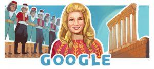 غوغل يحتفل بعيد ميلاد الشحرورة التسعين