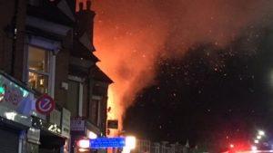 """الشرطة البريطانية: انفجار"""" في مدينة ليستر وسط إنجلترا و 6 أشخاص يتلقون العلاج"""