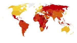 منظمة الشفافية الدولية: السودان ضمن الدول العربية الخمس الأكثر فساداً في العالم