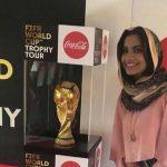 (كأس العالم) يصل الخرطوم برفقة ممثلين للاتحاد الدولي لكرة القدم