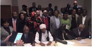 البيان الختامي لـ (نداء السودان) يشدد على تصعيد العمل الجماهيرى ومواصلة الانتفاضة