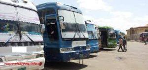 سخط وسط المسافرين بموقف شندي لزيادة أسعار التذاكر من 120 إلى 170 جنيهاً