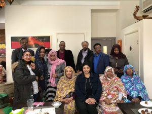 مرشحة حزب العمال منى إسحق: أدعو السودانيين إلى التطوع والتفاعل مع المجتمع البريطاني