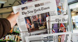 2017م عام قاسٍ على الصحافة الأميركية