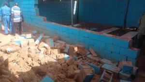 مصرع 3 تلميذات وإصابة 8 بجروح خطيرة بسبب انهيار جدار بمدرسة خاصة في أم بده