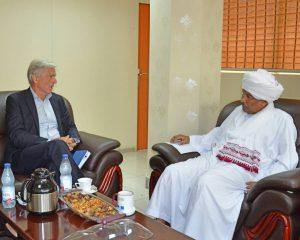 السودان يدعو النرويج إلى القيام بدور أساسي في دعم السلام بدارفور