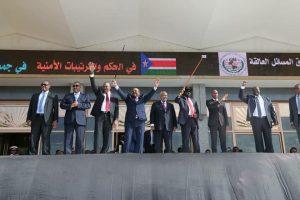 فرقاء جنوب السودان يوقعون على اتفاق الحكم والترتيبات الأمنية