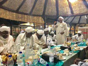 الأمة القومي يقيم لقاءً اجتماعياً احتفاءً بالقيادي المهجري عبدالرحمن العجيل