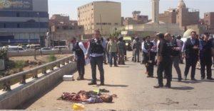 هجوم انتحاري على كنيسة بشبرا الخيمة في مصر