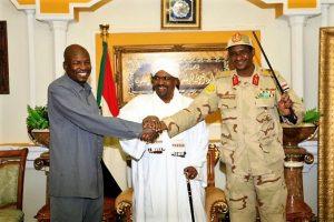 رئيس الجمهورية يعقد جلسة صلح بين أحمد هارون وحميدتي