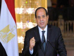 السيسي يعلن دعمه للفترة الانتقالية في السودان