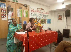 المجموعة السودانية لحقوق المرأة في لندن تحتفي بذكرى أكتوبر بندوة وأغان وطنية