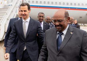 التقى بشار: البشير أول رئيس عربي يزور سورية منذ بدء الأزمة السورية