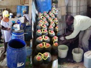 مباحث حماية المستهلك: ضبط  700 كيلو من الشحوم الحيوانية معدة لصناعة الزيوت بطريقة عشوائية