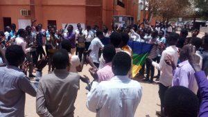 طلاب حزب البعث: تعرض طالبة لاعتداء لفظي من أحد طلاب المؤتمر الوطني