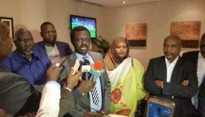 """""""نداء السودان"""": الآلية الإفريقية تتحمل ما جرى وبيانها حوى مغالطات والنظام الآن أمام محكمة الشعب"""