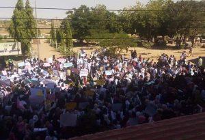 وصف رسالة قوش بالفجة: تجمع المهنيين يؤكد عدم تراجع الثورة حتى إزالة النظام