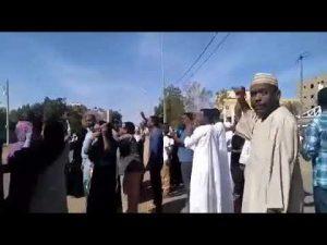 بعد تظاهرات وسط الخرطوم: عدد من أحياء العاصمة تشهد  تظاهرات كبيرة