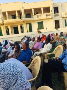 تأبين الشهيد أحمد  الخير بدار الأمة أمس: تأكيد استمرار الثورة حتى سقوط النظام