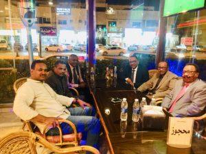 جمعية الصحفيين السودانيين تكرم محمد عثمان بمناسبة عودته للوطن