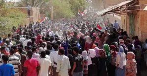 الآلاف يتظاهرون البوم في عدد من أحياء الخرطوم وتظاهرات حاشدة في الأبيض وسنار واربجي