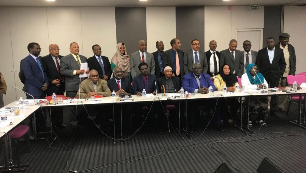 """في بيانه الختامي.. """"نداء السودان"""":  نرفض ما طرحه النظام من مبادرات للحوار"""