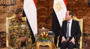 البرهان يتوجه إلى جمهورية مصر العربية في زيارة رسمية-  تلبية لدعوةالرئيس المصري عبد الفتاح السيسي