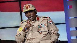 رئيس العمليات بالدعم السريع: عناصر تتبع للحركات المسلحة وراء تشويه صورة قواتنا