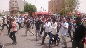 موكب حاشد بالخرطوم يطالب باستكمال هياكل السلطة الانتقالية