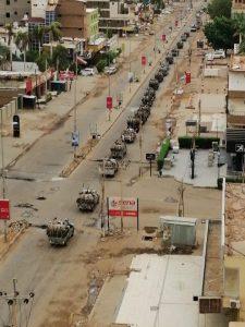 والي البحر الأحمر يستقبل إسناد قوات الدعم السريع