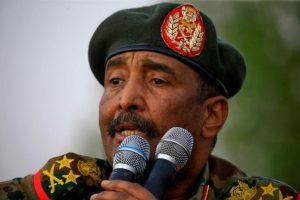 رئيس مجلس السيادة الانتقالي يصل مدينة جوبا