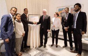 الرئيس الألماني: الانتقال قد بدأ بالفعل في السودان