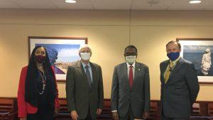 التقى السفير السوداني.. مساعد وزير الخارجية الأمريكي:  تتطلع للشراكة مع السودان