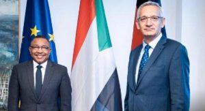 المانيا تؤكد تعزيز   علاقاتها مع السودان-الخارجية تثمن الدعم الألماني داعية لتعاون استراتيجي