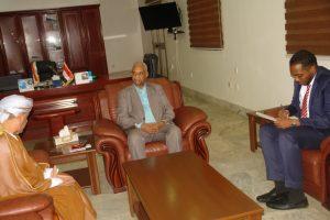 وزير الثقافة والإعلام يلتقي القائم بالأعمال الروماني و سفير سلطنة عمان لدى الخرطوم