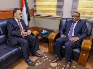 وزير الخارجية يلتقي سفير تركيا لدى الخرطوم
