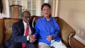 سفير السودان لدى واشنطن في زيارة للأستاذ الفنان الكابلي