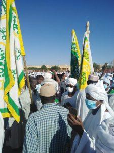 جماهير الشعب السوداني تشيع الإمام الصادق المهدي لمثواه الأخير