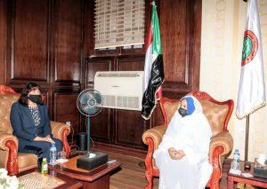 رئيس القضاء السوداني تؤكد الاهتمام بحل مشاكل السجينات والاطفال