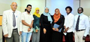 """خريجي وطلاب جامعة السودان للعلوم والتكنولوجيا يشاركون معمار """"الافارقة"""""""