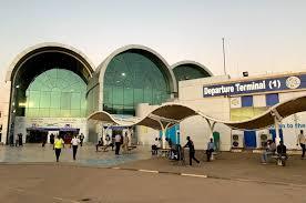 إدارة مطار الخرطوم توضح اسباب حريق صالة المغادرة