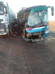 وفاة وإصابة 52 سودانياً فى حادث انقلاب أتوبيس بطريق أبوسمبل جنوب أسوان