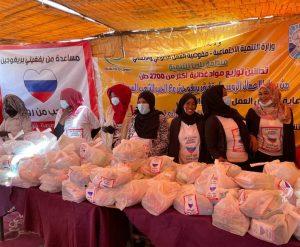 من شرق النيل إلى جنوب الخرطوم رجل أعمال روسي ومنظمة بلدنا يشرعان في توزيع مليون سلة غذائية للفقراء