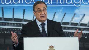 بيريز يتهم الاتحادين الدولي والاوربي بالفساد ويحذر الاندية من مصير مظلم