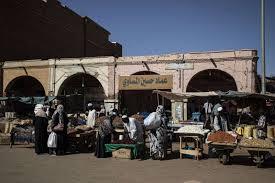 الدفاع المدني يخمد حريق بمتاجر بالسوق الشعبي الخرطوم
